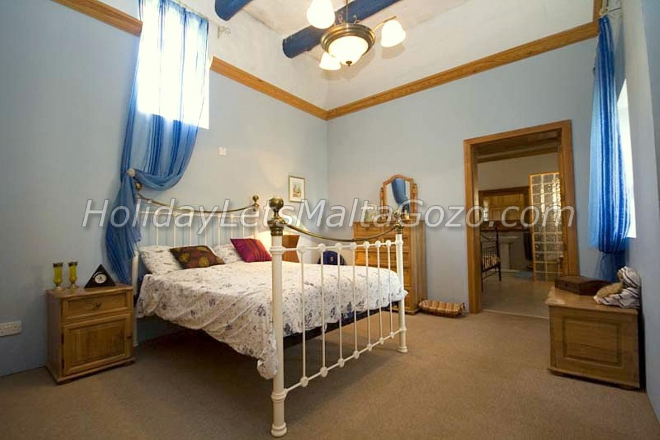 Bedroom with adjoining Bedroom with Bathroom