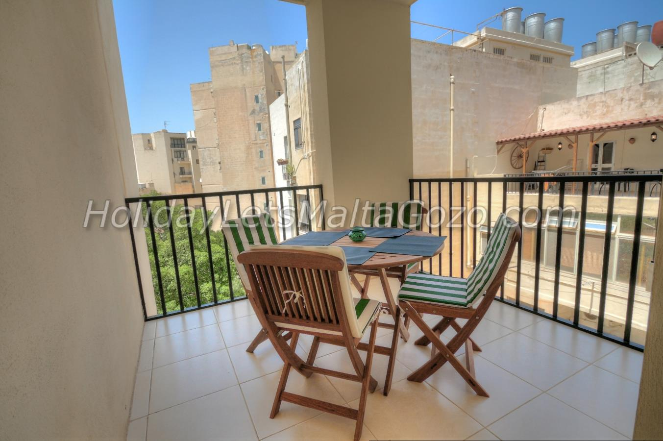 Terrace with Table & Chairs