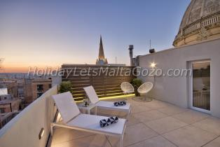 Holiday Let Malta Valletta Studio mint suite no3